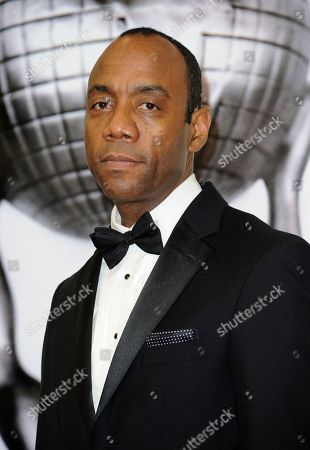 NAACP President Cornell William Brooks poses in the press room at the 48th annual NAACP Image Awards at the Pasadena Civic Auditorium, in Pasadena, Calif