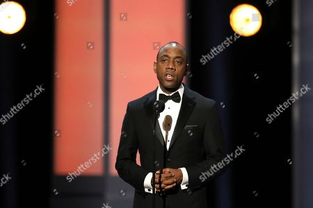 Stock Picture of NAACP President Cornell William Brooks presents the president's award at the 48th annual NAACP Image Awards at the Pasadena Civic Auditorium, in Pasadena, Calif
