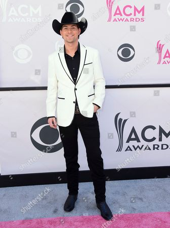 William Michael Morgan arrives at the 52nd annual Academy of Country Music Awards at the T-Mobile Arena, in Las Vegas