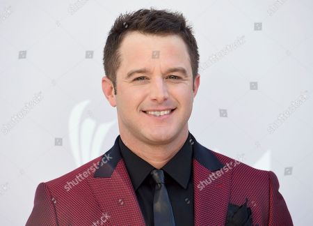 Easton Corbin arrives at the 52nd annual Academy of Country Music Awards at the T-Mobile Arena, in Las Vegas