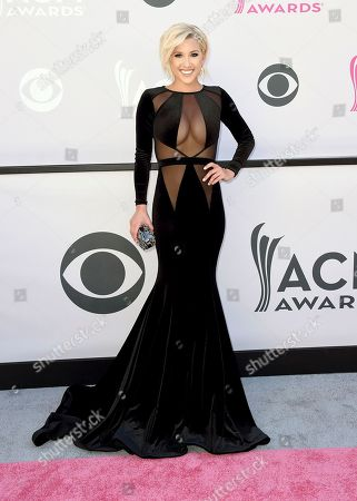 Savannah Chrisley arrives at the 52nd annual Academy of Country Music Awards at the T-Mobile Arena, in Las Vegas