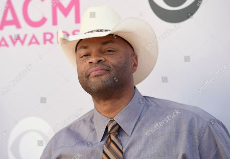 Cowboy Troy arrives at the 52nd annual Academy of Country Music Awards at the T-Mobile Arena, in Las Vegas