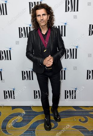 Stock Image of Stephan Moccio arrives at the 65th annual BMI Pop Awards at the Beverly Wilshire Hotel, in Beverly Hills, Calif
