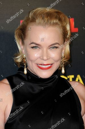 Stock Photo of Kym Wilson attends the 6th Annual AACTA International Awards held at Avalon Hollywood, in Los Angeles