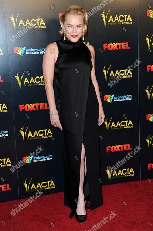Kym Wilson attends the 6th Annual AACTA International Awards held at Avalon Hollywood, in Los Angeles