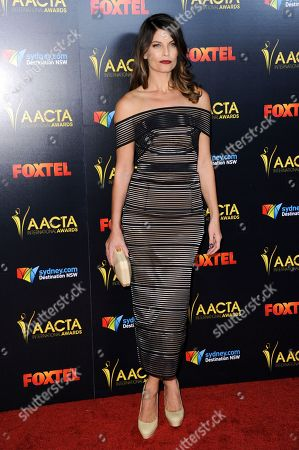 Zoe Ventoura attends the 6th Annual AACTA International Awards held at Avalon Hollywood, in Los Angeles