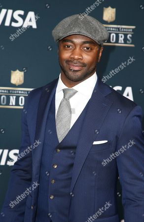 Former NFL player Curtis Martin arrives at the 6th annual NFL Honors at the Wortham Center, in Houston