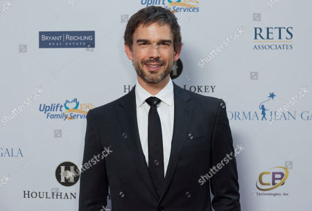 Christopher Gorham arrives at the Uplift Family Services at Hollygrove's 6th annual Norma Jean Gala at the W Hollywood, in Los Angeles