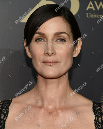 Carrie-Ann Moss attends the 75th Annual Peabody Awards Ceremony at Cipriani Wall Street, in New York