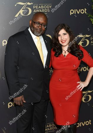 Editorial photo of 75th Annual Peabody Awards Ceremony, New York, USA - 21 May 2016