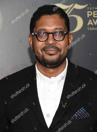 Stock Picture of Jayson Jackson attends the 75th Annual Peabody Awards Ceremony at Cipriani Wall Street, in New York