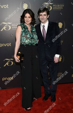 Director Alexandra Shiva and husband Jonathan Marc Sherman attend the 75th Annual Peabody Awards Ceremony at Cipriani Wall Street, in New York