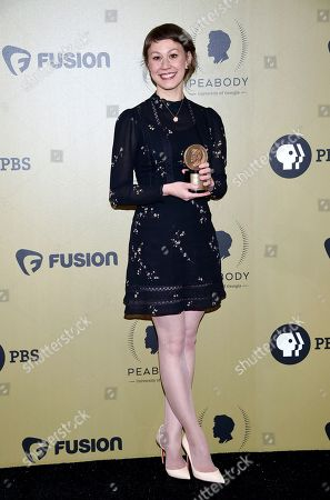 Editorial image of 76th Annual Peabody Awards - Press Room, New York, USA - 20 May 2017