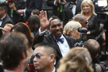 Mykelti Williamson arrives at the Oscars, at the Dolby Theatre in Los Angeles