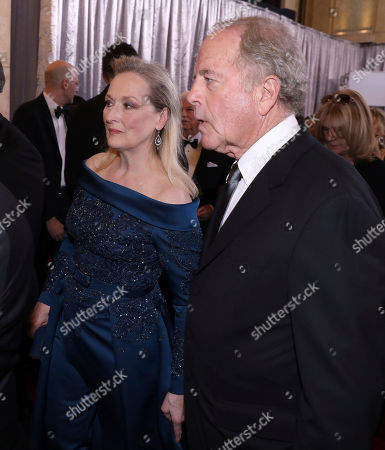 Stock Image of Meryl Streep, left, and Don Gummer arrive at the Oscars, at the Dolby Theatre in Los Angeles