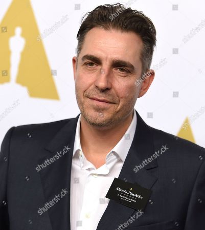 Martin Zandvliet arrives at the 89th Academy Awards Nominees Luncheon at The Beverly Hilton Hotel, in Beverly Hills, Calif