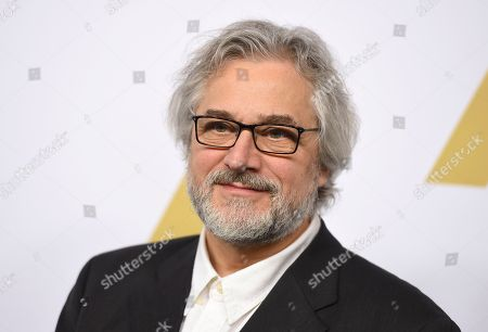 Michael Dudok de Wit arrives at the 89th Academy Awards Nominees Luncheon at The Beverly Hilton Hotel, in Beverly Hills, Calif