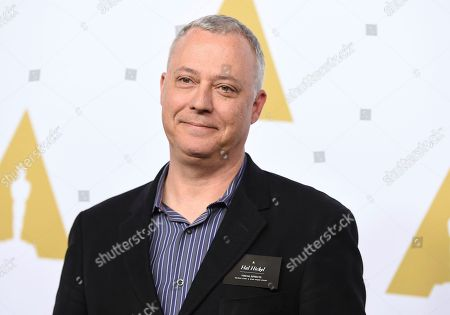 Hal Hickel arrives at the 89th Academy Awards Nominees Luncheon at The Beverly Hilton Hotel, in Beverly Hills, Calif