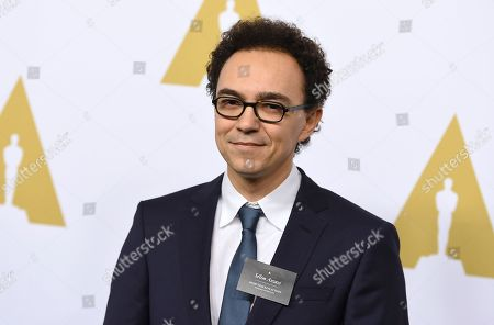 Selim Azzazi arrives at the 89th Academy Awards Nominees Luncheon at The Beverly Hilton Hotel, in Beverly Hills, Calif