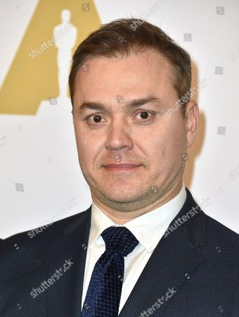 Theodore Melfi arrives at the 89th Academy Awards Nominees Luncheon at The Beverly Hilton Hotel, in Beverly Hills, Calif