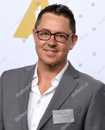 Greig Fraser arrives at the 89th Academy Awards Nominees Luncheon at The Beverly Hilton Hotel, in Beverly Hills, Calif