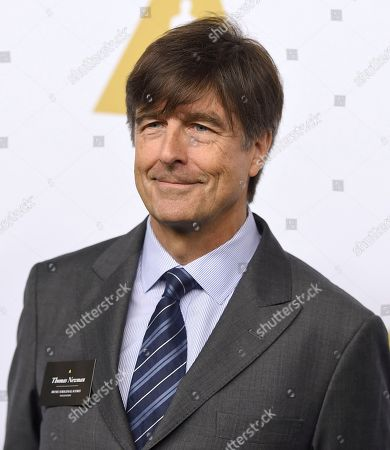 Thomas Newman arrives at the 89th Academy Awards Nominees Luncheon at The Beverly Hilton Hotel, in Beverly Hills, Calif