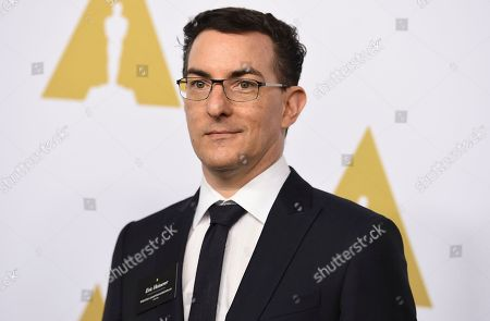Eric Heisserer arrives at the 89th Academy Awards Nominees Luncheon at The Beverly Hilton Hotel, in Beverly Hills, Calif