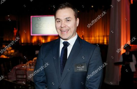 Theodore Melfi attends the 89th Academy Awards Nominees Luncheon at The Beverly Hilton Hotel, in Beverly Hills, Calif