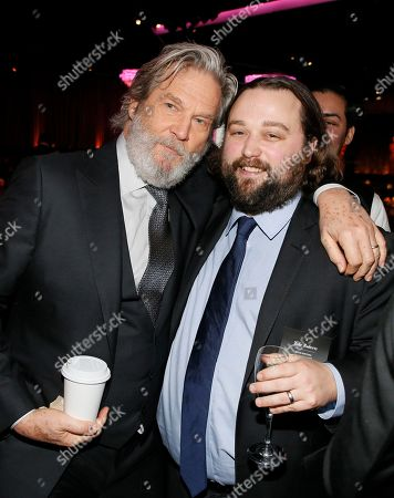Jeff Bridges, left, and Jake Roberts attend the 89th Academy Awards Nominees Luncheon at The Beverly Hilton Hotel, in Beverly Hills, Calif