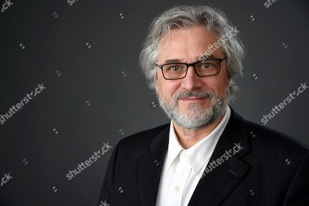 Michael Dudok de Wit poses for a portrait at the 89th Academy Awards Nominees Luncheon at The Beverly Hilton Hotel, in Beverly Hills, Calif
