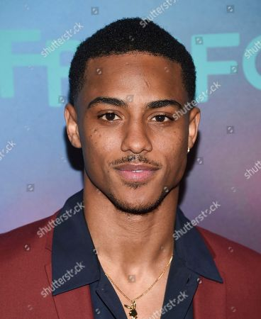 Keith Powers attends the ABC Freeform 2017 Upfront at the Hudson Mercantile, in New York
