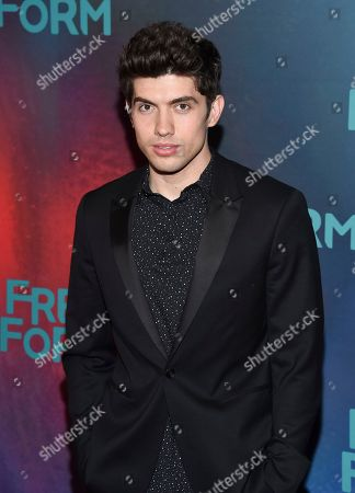 Carter Jenkins attends the ABC Freeform 2017 Upfront at the Hudson Mercantile, in New York