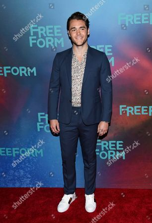 Charlie Depew attends the ABC Freeform 2017 Upfront at the Hudson Mercantile, in New York