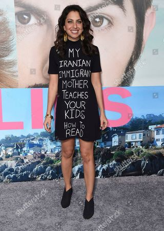 """Kathreen Khavari arrives at the Los Angeles premiere of """"Big Little Lies"""" at the TCL Chinese Theatre on"""