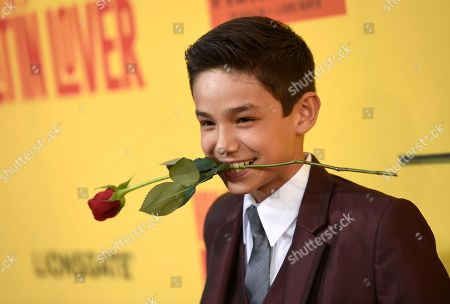 """Noel Carabaza arrives at the Los Angeles premiere of """"How to Be a Latin Lover"""" at the ArcLight Hollywood on"""
