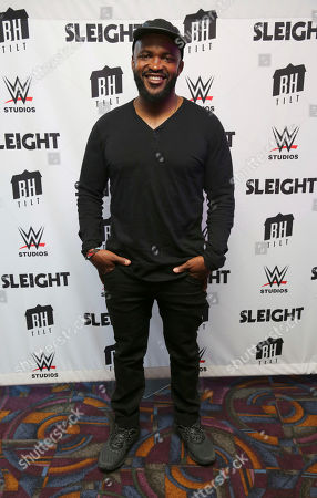 """Storm Reid, J.D. Dillard, Seychelle Gabriel and Dule Hill seen at a Special Screening of BH Tilt and WWE Studios' """"Sleight"""" at the Regal Cinemas at LA Live, in Los Angeles"""