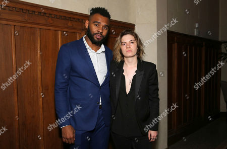 "J.D. Dillard and Georgi Kay seen at a Special Screening of BH Tilt and WWE Studios' ""Sleight"" after party at MacArthur, in Los Angeles"