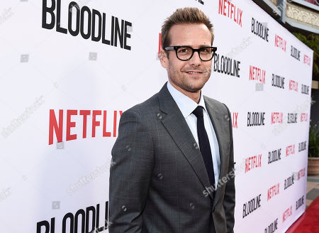 """Actor Gabriel Macht seen at the Netflix special screening and FYC conversation for """"Bloodline"""" season 3 at the ArcLight Culver City on in Culver City, Calif"""