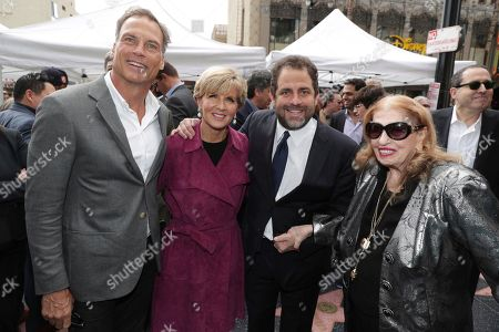 David Panton,Minister for Foreign Affairs The Hon Julie Bishop, Brett Ratner and Fanita Presman seen at Brett Ratner honored with a star on the Hollywood Walk of Fame, in Los Angeles