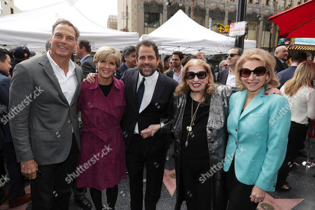 David Panton,Minister for Foreign Affairs The Hon Julie Bishop, Brett Ratner, Fanita Presman and Shari Redstone seen at Brett Ratner honored with a star on the Hollywood Walk of Fame, in Los Angeles