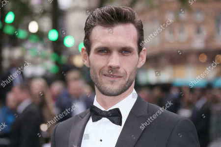 Ben Rigby poses for photographers upon arrival at the premiere of the film 'Alien Covenant' in London
