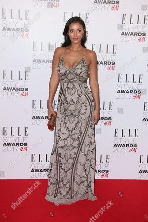 Editorial image of Britain Elle Style Awards 2017, London, United Kingdom - 12 Jan 2017