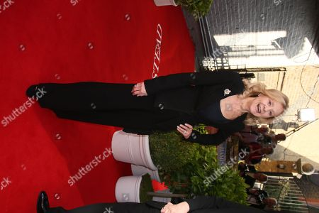 Rosalind Ayres poses for photographers upon arrival at the Hampstead premiere at a north London cinema
