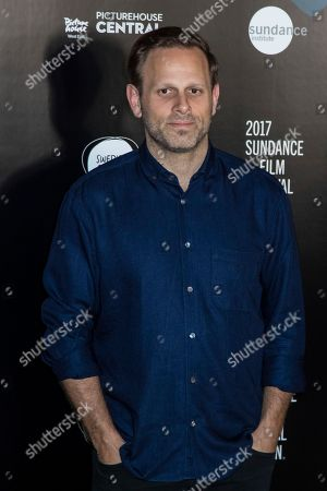Matt Ruskin poses for photographers during a photo call to promote the opening of the Sundance Film Festival in London
