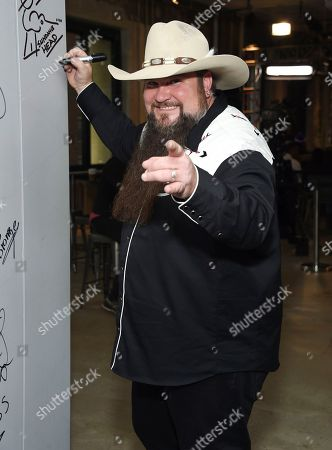 """Singer Sundance Head participates in the BUILD Speaker Series to discuss winning """"The Voice"""", at AOL Studios, in New York"""
