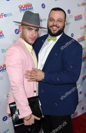 Joseph Bradley Phillips and Daniel Franzese attend BuzzFeed's Inaugural Queer Prom at Siren Studios on in Los Angeles. The event honored every student's right to experience prom. BuzzFeed selected six high school students from across the country to join the festivities. Other guests included local LA area LGBT high school seniors, celebrities, performers, and advocates who will all be featured in a special BuzzFeed video series