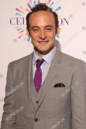 Charlie Hofheimer arrives at the Center Theatre Group 50th Anniversary event, in Los Angeles