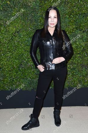 Eva Chun attends the Chanel Dinner to Celebrate Gabrielle Bag at Giorgio Baldi, in Santa Monica, Calif