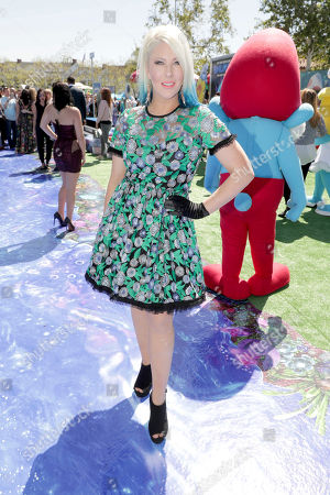 """Stock Photo of Shaley Scott seen at Columbia Pictures and Sony Pictures Animation Present the World Premiere of """"Smurfs: The Lost Village"""" at ArcLight Culver City, in Culver City, Calif"""