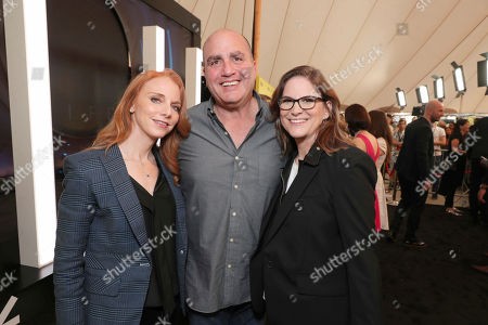 """Lisa Feldsher, Executive Producer Don Granger and Producer Dana Goldberg seen at Columbia Pictures World Premiere of """"Life"""" the movie at SXSW 2017, in Austin, TX"""